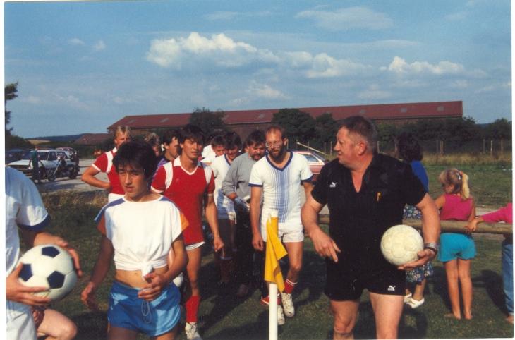 1991-Endspiel Einlauf