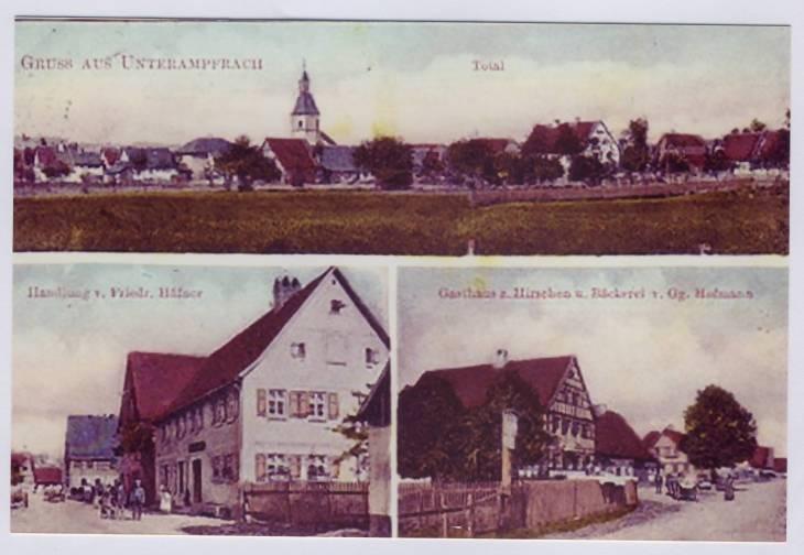alte postkarten um 1900